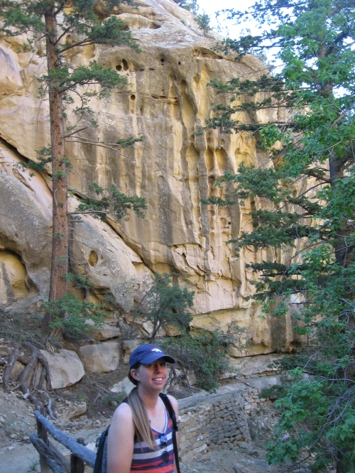 M'lissa at mesa verde aug 2014