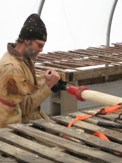 log railing 011