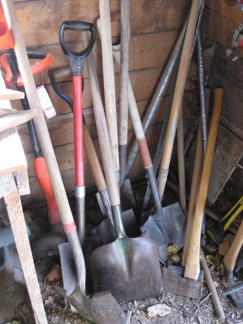 Misc garden-field tools