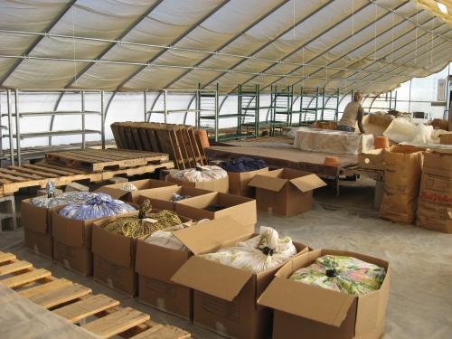 preparing seed shipment 2015